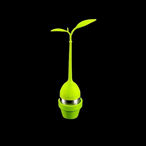 L'infuseur à thé plante