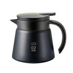 Cafetière Hario noire 2 tasses en acier inoxydable modèle V60