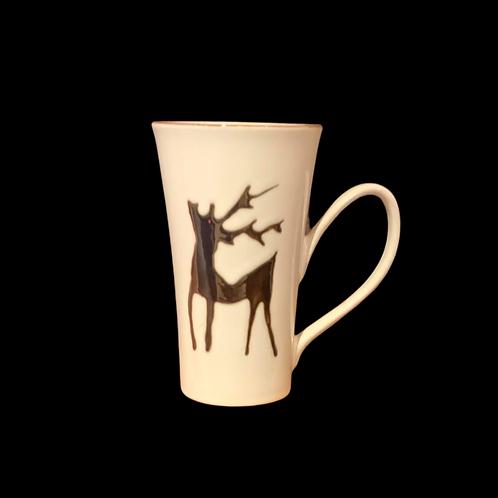 La tasse renne festif