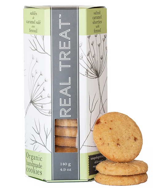 Biscuits Caramel Salé et Fenouil