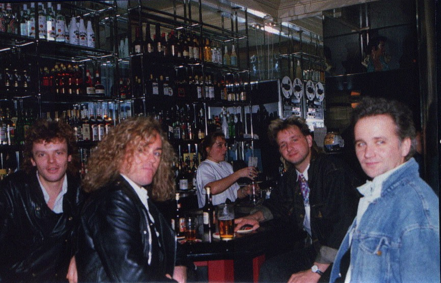 Cockney Rebel, Amsterdam, 1990
