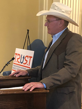 McCurtain County Commissioner Jimmy Westbrook provides a CIRB and county roads update.