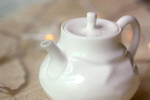 瓷器小茶壺 - 雅白
