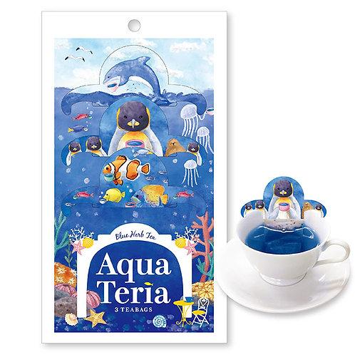 Aqua Teria Cafe 日本海洋館手柄掛耳茶包 (蝶豆花檸檬草茶)