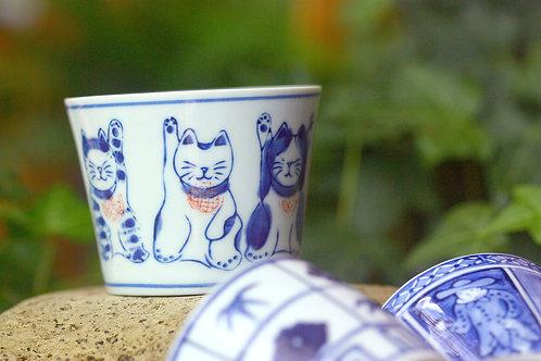 青瓷闊口花器 / 杯