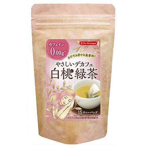日本Tea Boutique無咖啡因 -白桃綠茶