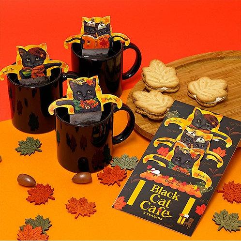 Black Cat Cafe 日本貓手柄掛耳茶包 (秋之楓葉茶)