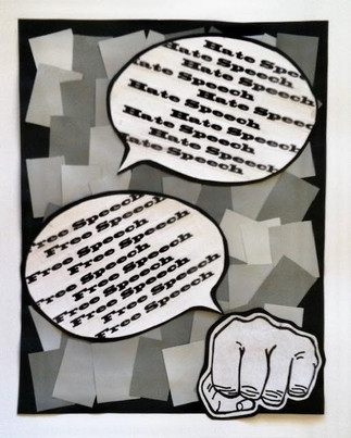 Positive & Negative Space Poster: Focus on Social, Political, or Environmental Issue