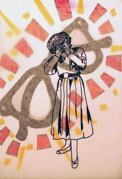 Sharpie, vellum, and marker Color Theory, Arizona State University