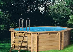 Houten zwembad 414
