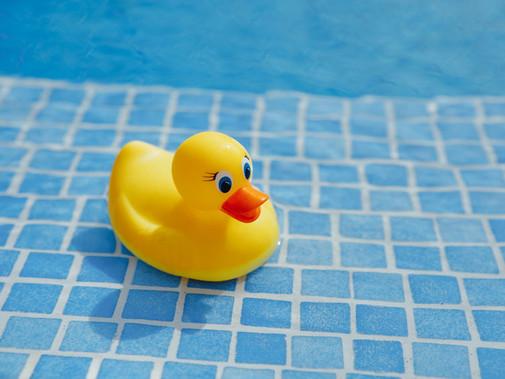 Zomerklaar maken van een zwembad