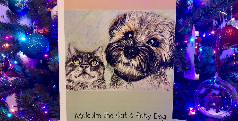 Malcolm & Baby Dog Notebook