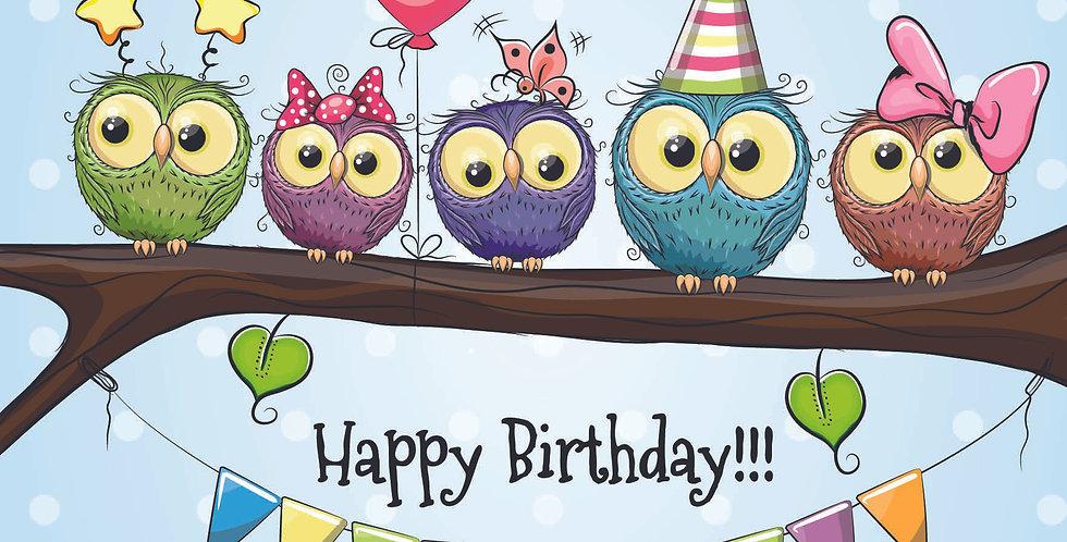 'Birthday Owls'