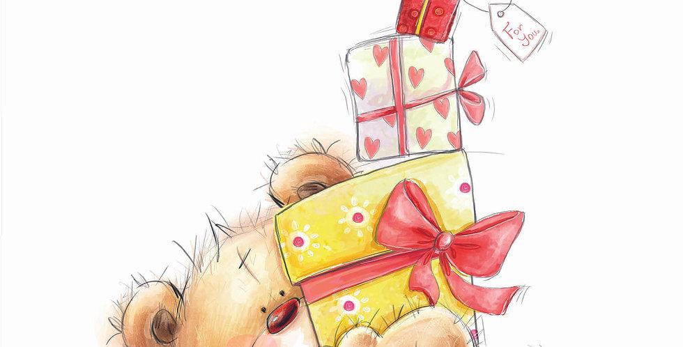'Teddy Brings Gifts'
