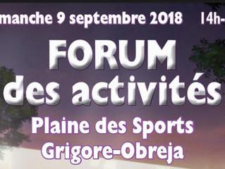 Forum des activités de Buchelay 2018-2019