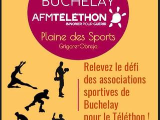 9 décembre 2017: Challenge Téléthon à la plaine de sports (Buchelay)