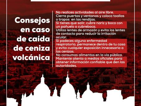 ¡ATENCIÓN! : PRESENCIA DE CENIZA EN CUENCA - TOMA NOTA ALGUNOS CONSEJOS PARA TU SEGURIDAD