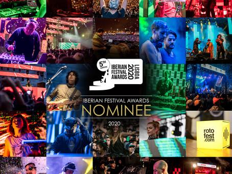 ROTOFEST nominado para mejor festival de habla hispana en los Iberian Festival Adwards LISBOA 2020