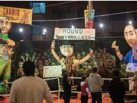 VIVE LA TRADICIÓN DEL FIN DE AÑO ENTRE MONIGOTES, HUMOR Y GRANDES FIESTAS EN #CUENCAMEJORQUENUNCA