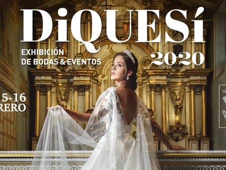 CUENCA SE VISTE DE BLANCO EN EL DIQUESI 2020 EXHIBICION DE BODAS Y EVENTOS
