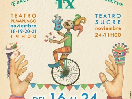 ¡DEL 16 AL 24 DE NOVIEMBRE, ¡CUENCA ES DE LOS NIÑOS Y LOS TÍTERES!