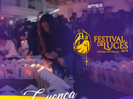 Cuenca enciende más de 6000 faroles en homenaje a la Virgen Morenica del Rosario