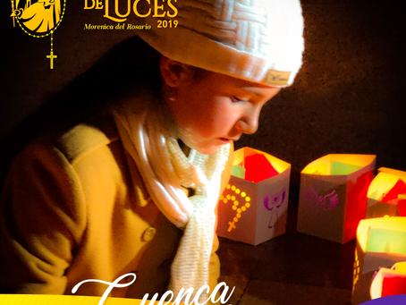 Cuenca vivió el Festival de Luces 2019; una noche de luz, magia y rincones nunca antes descubiertos.