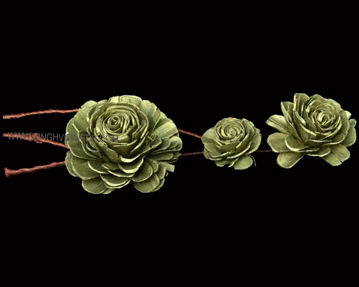 Sola Skin Beauty Rose on TST Olive Green
