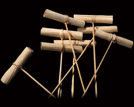 Betal Nut Roll Posy on Bamboo Stem