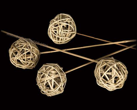 Lata Ball on Bamboo Stem