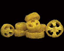 Luffa Slice Yellow