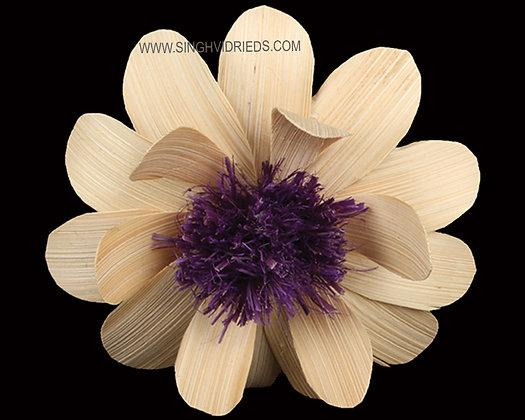 Deco Flower Purple Centre