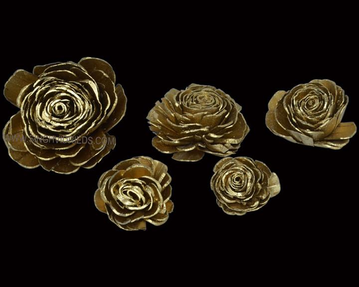Sola Skin Beauty Rose Brass Gold
