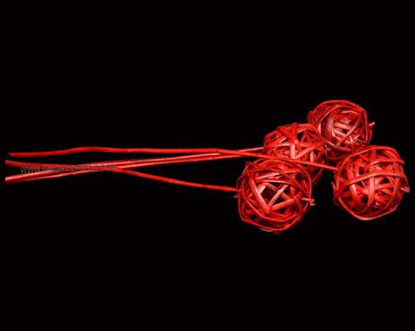 Kamboo Ball on LSt Enamel Red