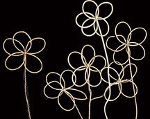 Lata Five Petals Flower