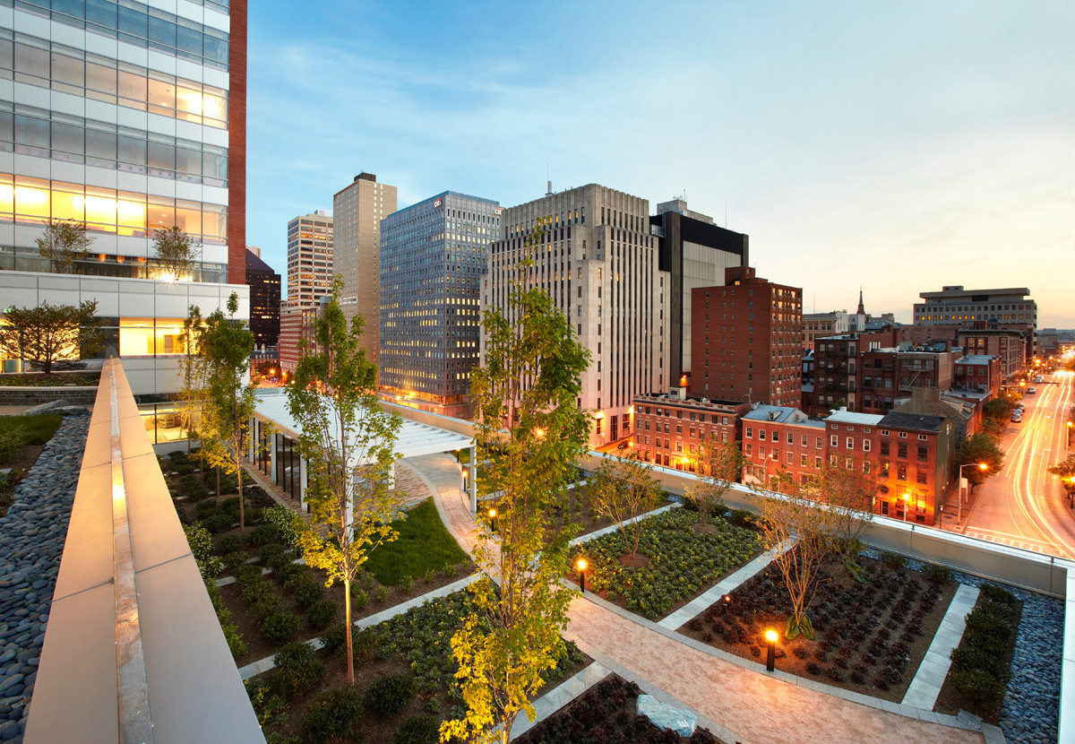 Mercy Medical Center Green Roofs