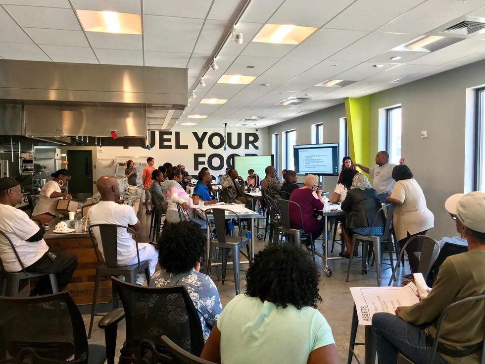 Baltimore Food Hub + Last Mile Park Community Engagement