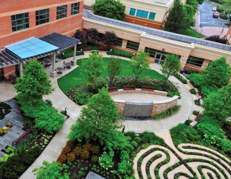 Upper Chesapeake Health Cancer Center Healing Garden