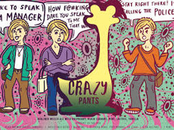 Oozlefinch Crazy Pants 4-Pack