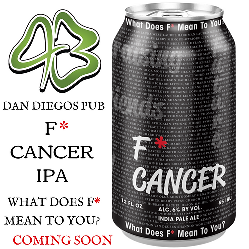Silver Moon F* Cancer IPA 6-Pack For Charity