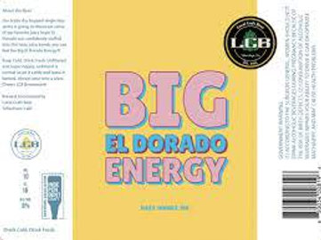 LCB Big El Dorado Energy 4-Pack