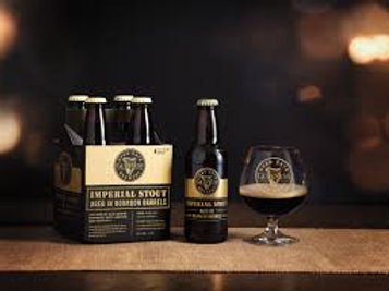 Guinness Barrel Aged Imperial Stout 4-Pack bottle