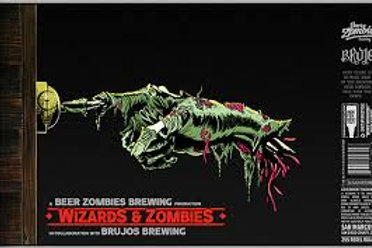Beer Zombies Wizards & Zombies 4-Pack