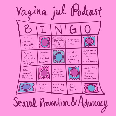 Ep 2: Sexual Violence Prevention & Advocacy with Haley Mangette