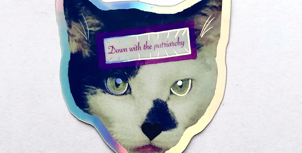 Down With The Patriarchy Sticker