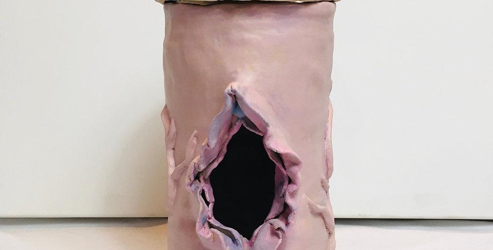 Erotic Penis Vulva Candle Holder