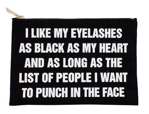 Black List MakeUp Bag