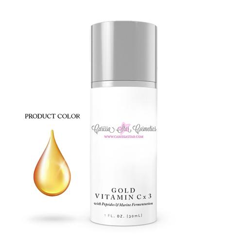 Gold Vitamin Cx3