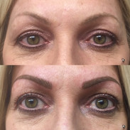 Combo Brow Tattooing