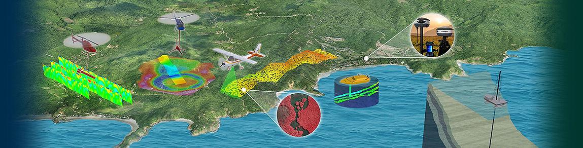 topografía aerea, lidar, lidar méxico, batimetría, geofísica, fotogrametría